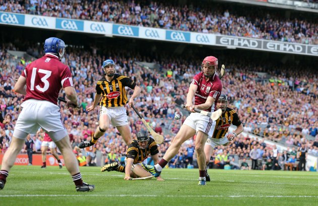Joe Canning scores the opening goal 9/9/2012