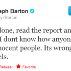 Joey Barton reveals his sensitive side.