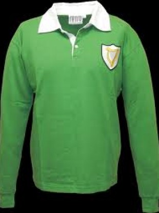 The retro Louth 1957 jersey which the players will wear.