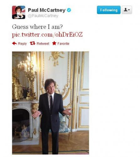Macca in Paris