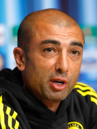 Di Matteo's Chelsea side were beaten 4-1 by Atletico last night.