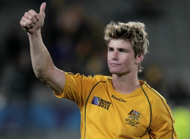 Berrick Barnes was six-from-six with the boot in today's game.
