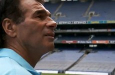 VIDEO: Reality star Paddy Doherty overwhelmed by Croke Park visit