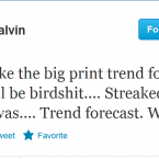 A typically quirky tweet from Paul Galvin.
