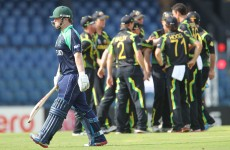 As it happened: Ireland v Australia, World T20 Cricket