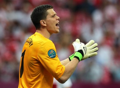 Szczesny: costly errors.