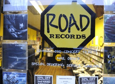 Road Records, which closed its doors after 11 years.