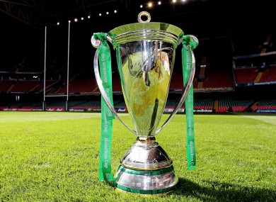 The future of the Heineken Cup is currently in doubt.