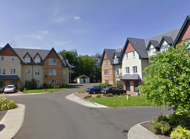 The man was shot at the Kilnacourt Woods housing estate in Portarlington, Co Laois, this morning. 