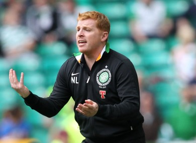 Neil Lennon. File picture. 