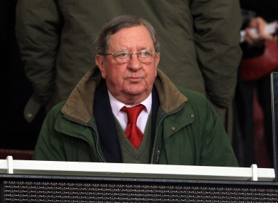 Arsenal chairman Peter Hill Wood has admitted his side don't have the finances to compete with other Premier League sides.