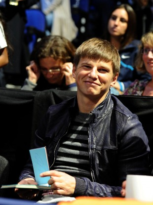 Russia's and Arsenal Andrei Arshavin.