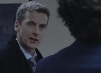 The fiery Malcolm Tucker