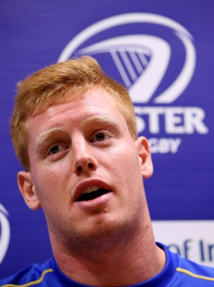 Tom Denton has played twice for Leinster this season.