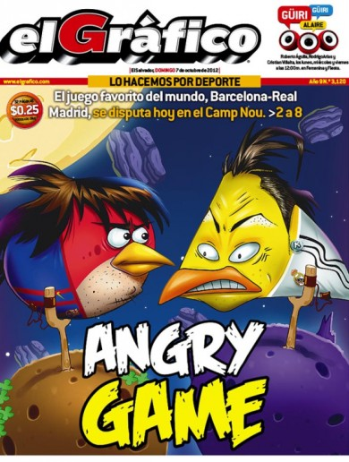 Here's your 'Messi and Ronaldo as Angry Birds' pic of the day