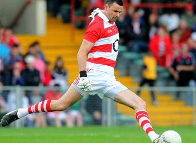 Alan Quirke in action in this year's Munster senior final.