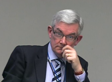 Sean Fleming said the Department of Health's Ambrose McLoughlin (pictured) was unfit to hold a position like the chairmanship of the HSE.