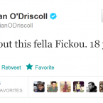 Brian O'Driscoll is impressed by the precocious star.