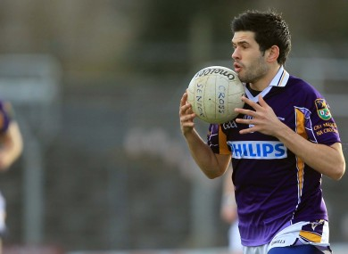 Cian O'Sullivan will be in action for Kilmacud Crokes tonight.