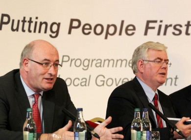 Yesterday's launch of the Action Programme for Effective Local Government.