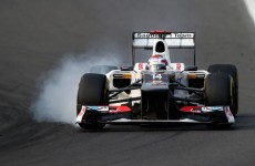 Formula 1: Button slams Sauber pair