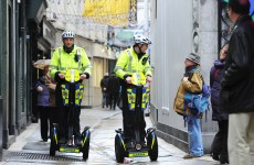 VIDEO: Gardaí on Dublin streets on their new Segways