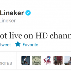 Gary Lineker apologises for his faux pas.