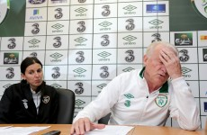 Eamon Dunphy: Trapattoni is 'taking us for a ride'