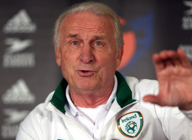 Giovanni Trapattoni believes Ireland can still qualify for Rio 2014.