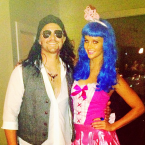 As Russell Brand and Katie Perry (in happier times).