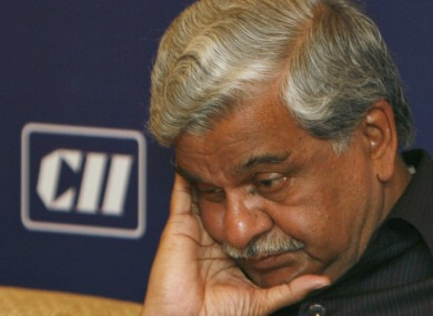 Indian Minister Sriprakash Jaiswal in 2008