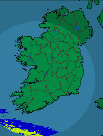 We're going to put it out there again… NO RAIN IN IRELAND