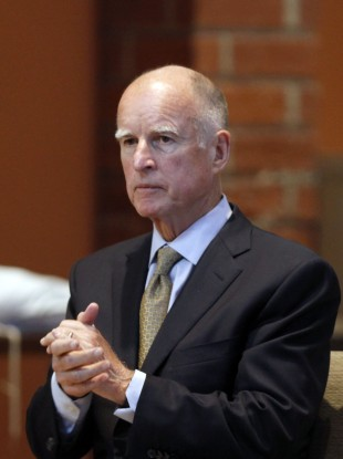 California governor Jerry Brown said he hoped the legislation would banish therapy for gay minors