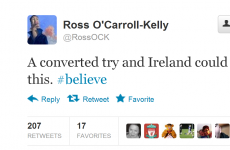 Here's how Twitter reacted to Ireland v Germany