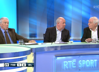 The RT panel debate Trapattoni's future.