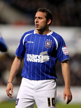 Ipswich's Michael Chopra is one of the three footballers charged.