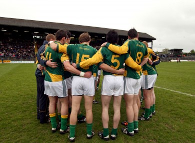 The Meath squad will have a new manager in 2013.