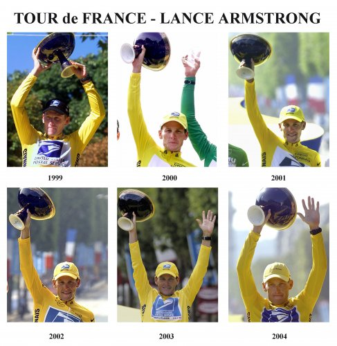 TOUR DE FRANCE ARMSTRONG