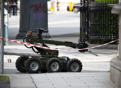 Bomb disposal team equipment (File photo)