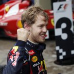 It's doubtful 2012 could have gone any better for Sebastian Vettel and Red Bull, who ended up as world champions for the third successive year (AP Photo/Silvia Izquierdo).