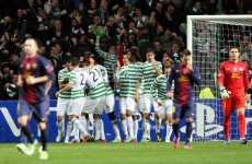 As it happened: Celtic v Barcelona, Champions League
