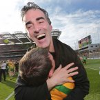 Could 2012 have gone any better for Jim McGuinness? The acclaimed coach led Donegal to their first All-Ireland win since 1992, before being offered a lucrative job to coach Celtic's academy on a part-time basis. (INPHO/Morgan Treacy)