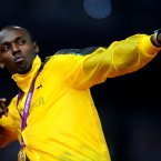 Another athlete of whom a lot was expected, Bolt delivered in style, winning three gold medals and breaking the 100m record in the process (Adam Davy/PA Wire/Press Association Images).
