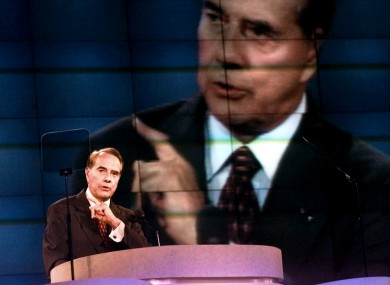 Bob Dole, who lost the 1996 presidential election