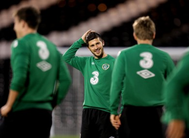 Shane Long: call-up.