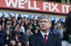Really? Wenger insists Arsenal are still in Premier League title race