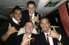How do millionaire footballers celebrate after a dramatic win?