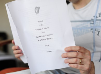 The final report of the Moriarty Tribunal, published in March 2011, recommended tax reliefs on political donations in order to limit the influence of higher spenders.