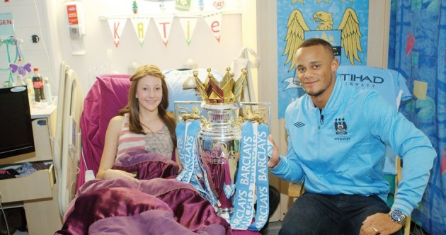 Premier League stars spread Christmas cheer at local hospitals