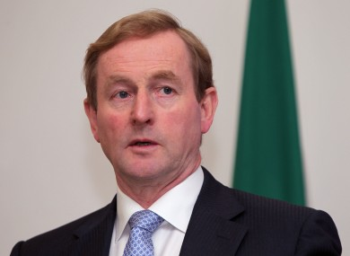 File photo of Enda Kenny.